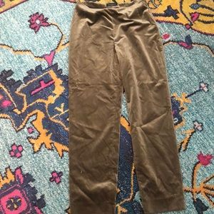 Piazza Sempione Brown Velvet Pants